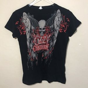 Ozzy Osbourne Graphic Black Rock Tee Medium